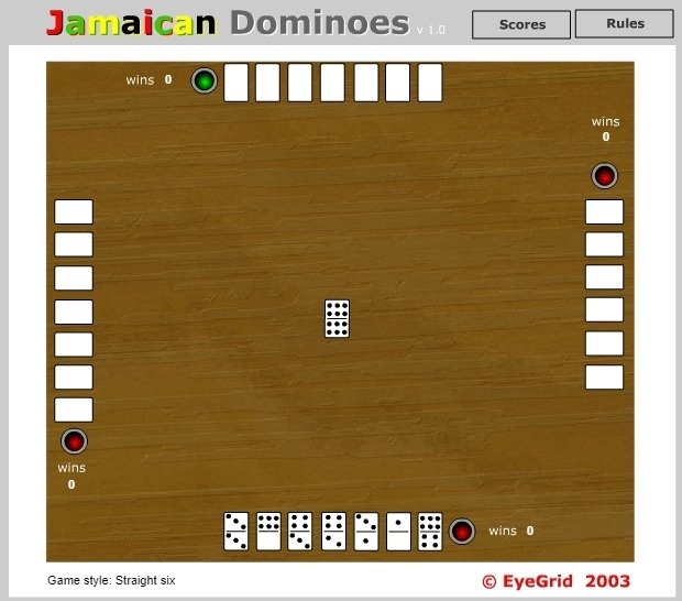 Jamaican Dominoes Game