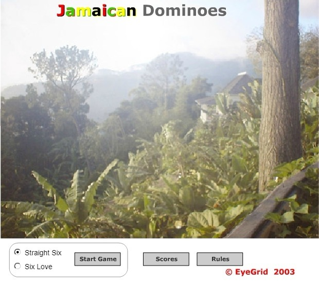 Play Jamaican Dominoes Game Full Screen
