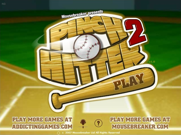 Play Pinch Hitter 2 Game Full Screen