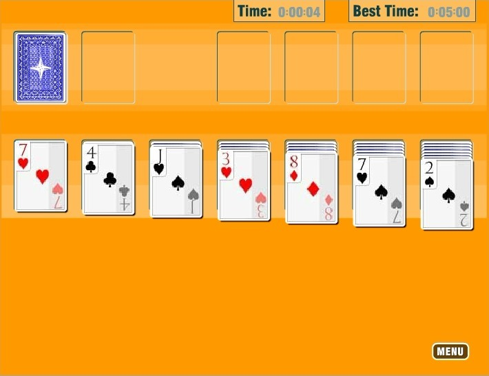 Play Solitaire Oldschool
