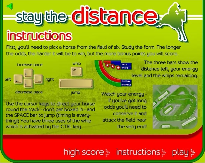 Play Stay the Distance Horse Racing