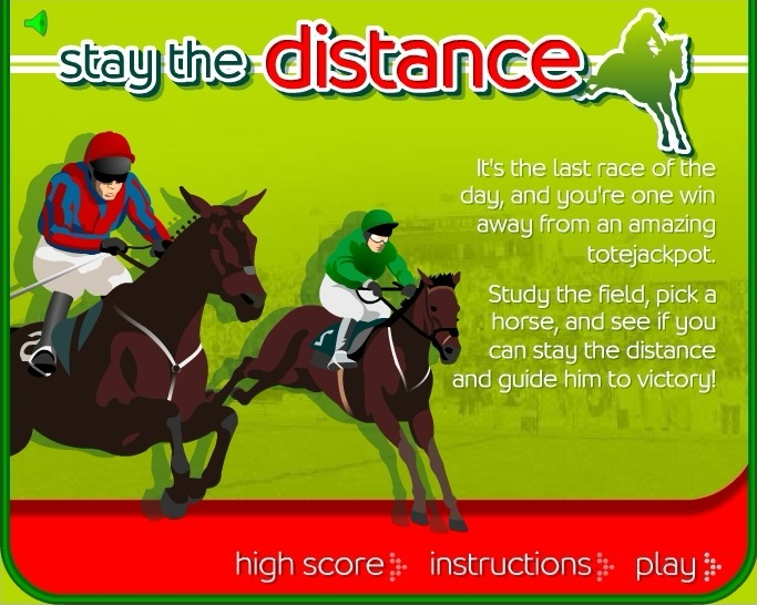 Play Stay the Distance Horse Racing Game Full Screen