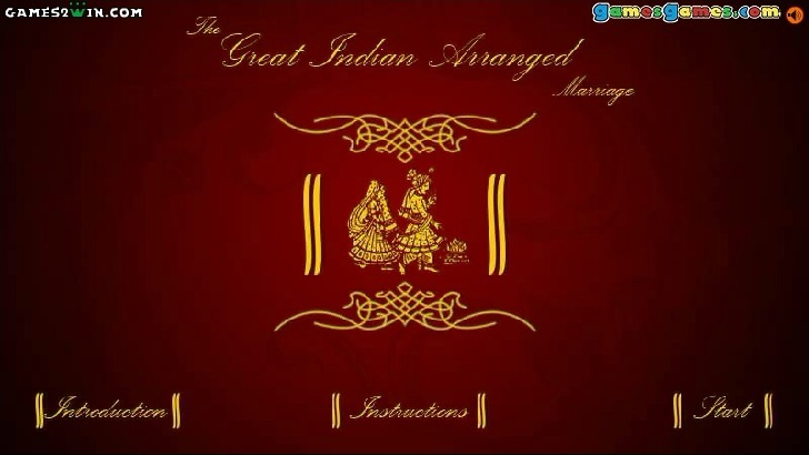 Play The Great Indian Arranged Marriage Game Full Screen