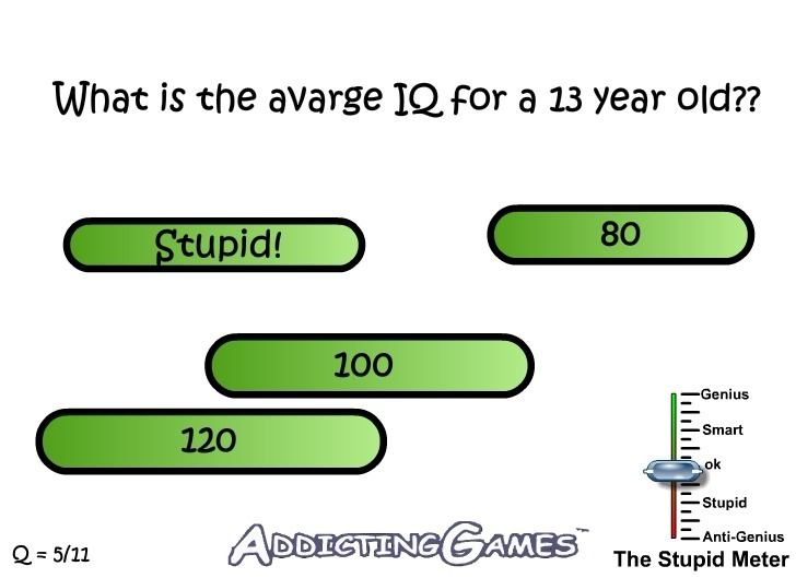 The Stupid Test 4 Game
