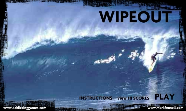 Play Wipeout Game Full Screen