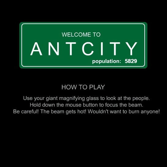 Play Ant City Game Full Screen