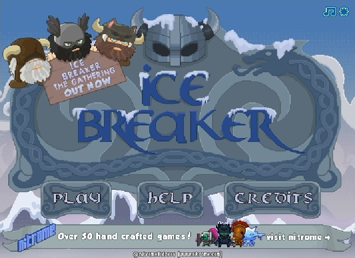 Play Ice Breaker Game Full Screen