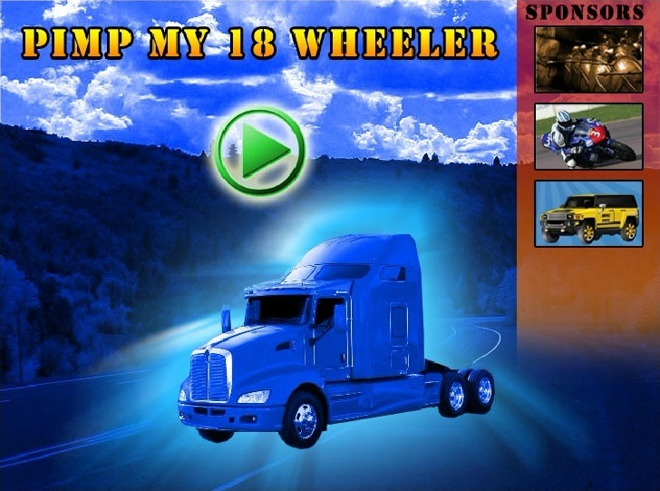 Play Pimp My Truck Game Full Screen