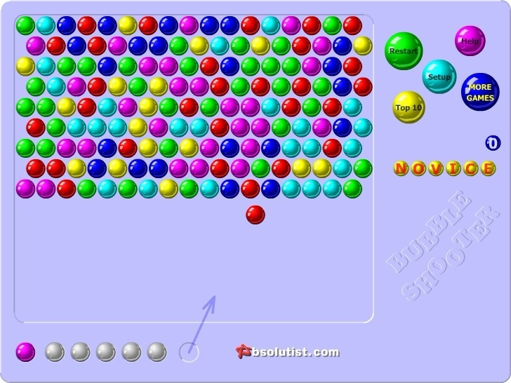 Play Bubble Shooter Game Full Screen