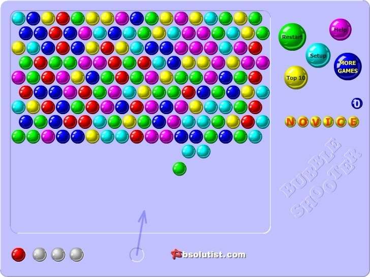 Bubble Shooter Full Screen