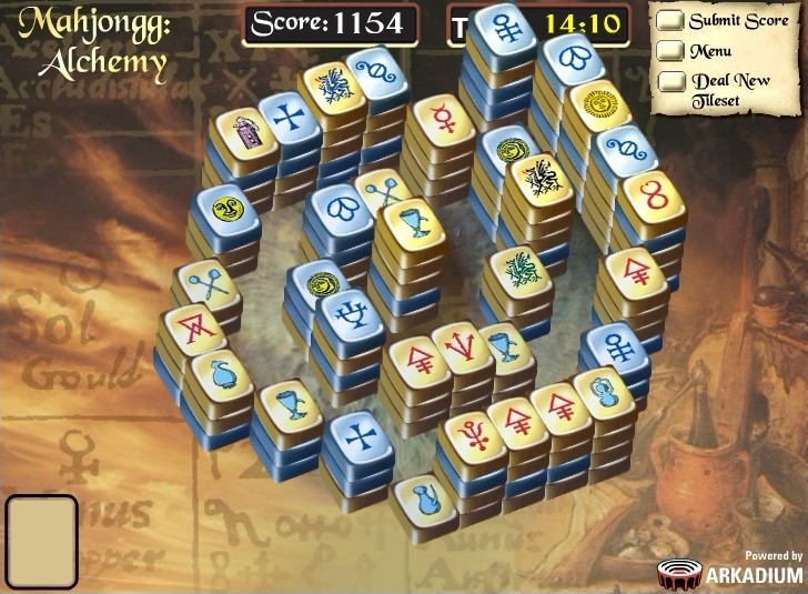 Play Mahjongg Alchemy