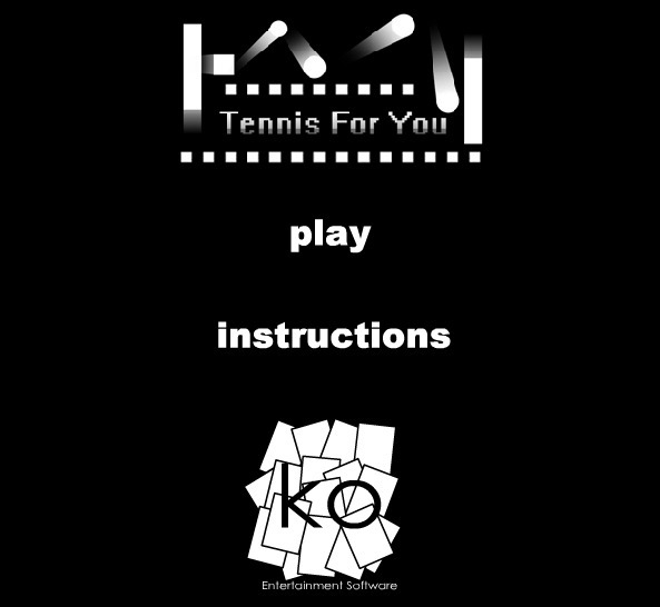 Play Tennis for You Game Full Screen