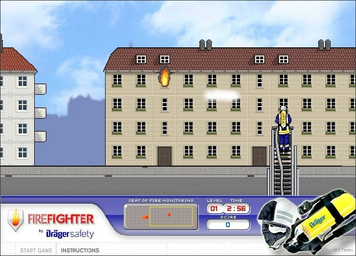 Drager Safety: Firefighter Game