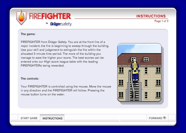 Play Drager Safety: Firefighter