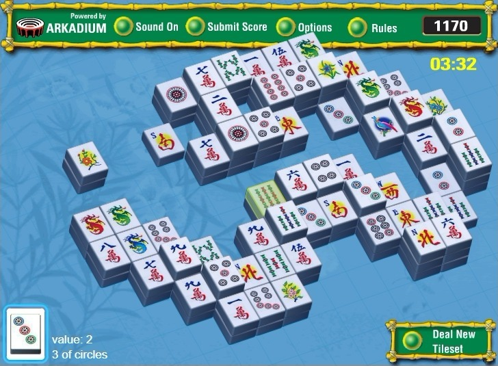 Mahjongg Garden Full Screen