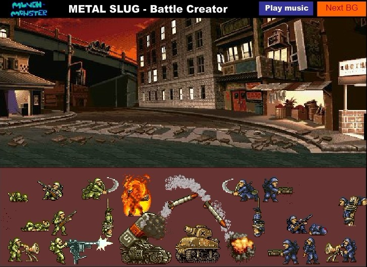 Metal Slug Battle Creator