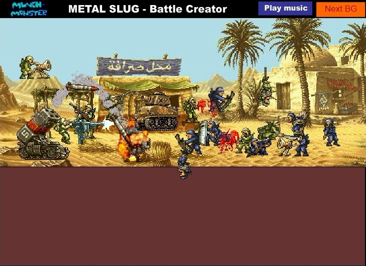 Metal Slug Battle Creator Full Screen
