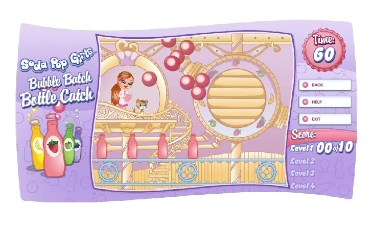 Play Soda Pop Girls Bubble Catch