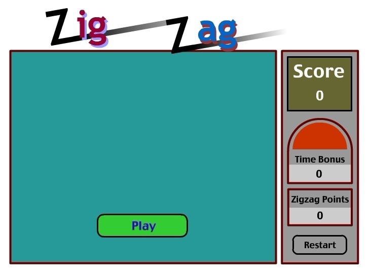 Play Zigzag Game Full Screen