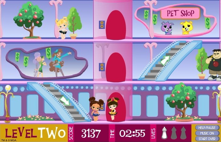 Bratz Babyz: Mall Crawl Full Screen