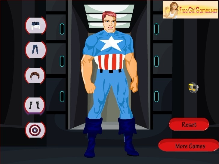 Play Captain Marvel Dress Up