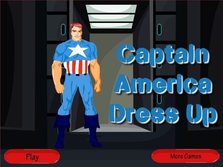 Play Captain Marvel Dress Up Game Full Screen