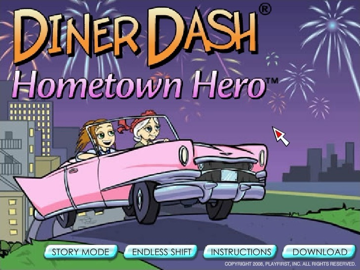 Play Diner Dash: Hometown Hero Game Full Screen