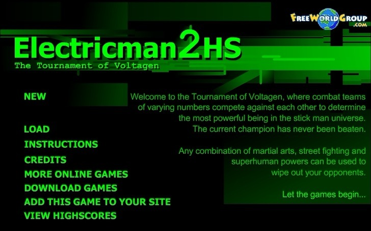 Play Electricman 2 HS Game Full Screen
