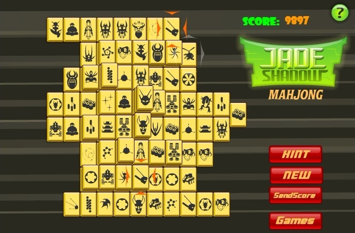 Jade Shadow Mahjong Full Screen