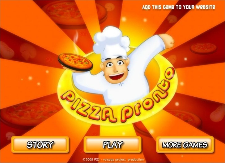 Play Pizza Pronto Game Full Screen
