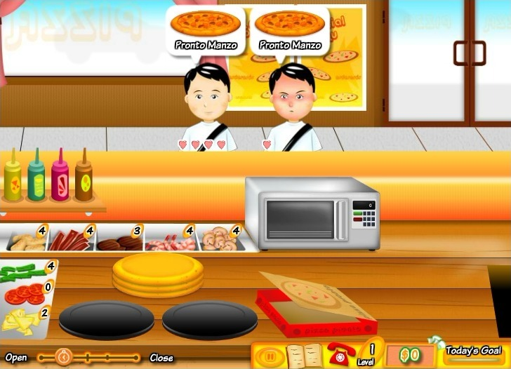 Pizza Pronto Full Screen