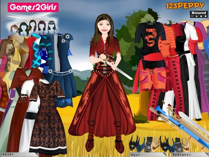Play Reena Kendo Girl Dressup