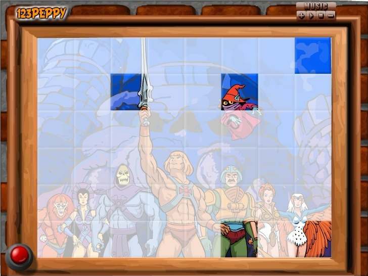 Sort My Tiles He-Man Game