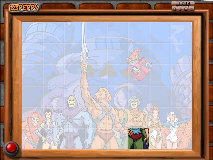 Play Sort My Tiles He-Man