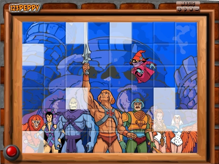 Sort My Tiles He-Man Full Screen