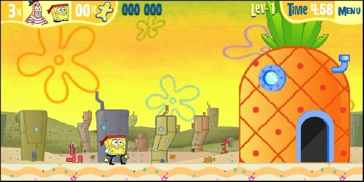 SpongeBob SquarePants: Dutchman's Dash Game