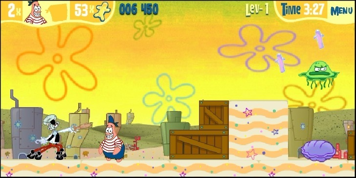 SpongeBob SquarePants: Dutchman's Dash Full Screen