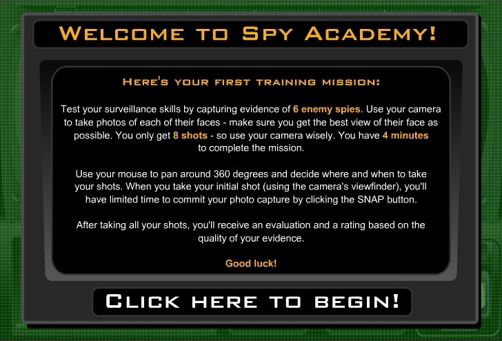 Play Spy Academy Game Full Screen