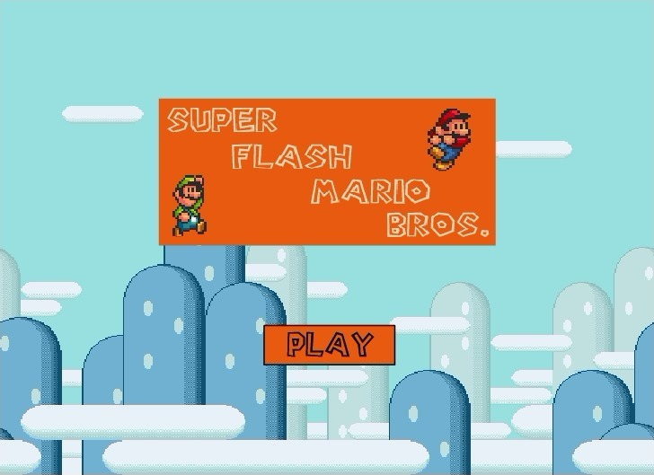Play Super Flash Mario Bros Game Full Screen