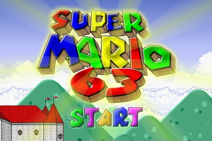 Play Super Mario 63 Game Full Screen