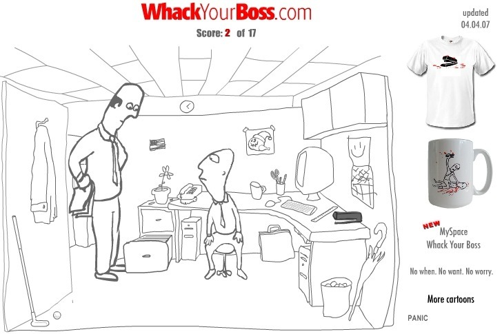 Play Whack Your Boss(17ways)