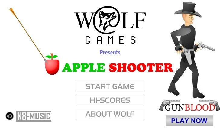 Play Apple Shooter Game Full Screen