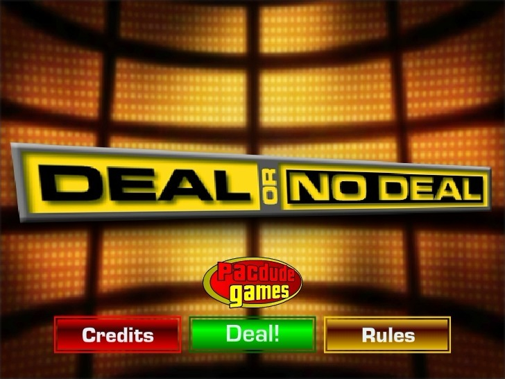 Play Deal or No Deal 2 Game Full Screen