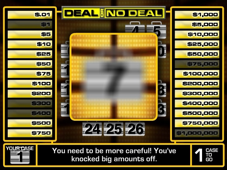 Deal or No Deal 2 Full Screen