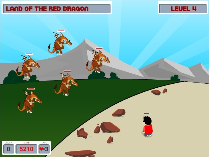 Kill the Dragons Game