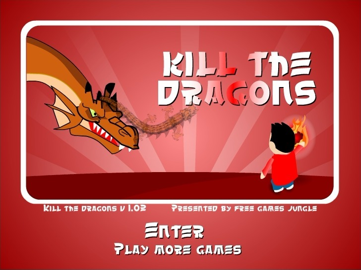 Play Kill the Dragons Game Full Screen