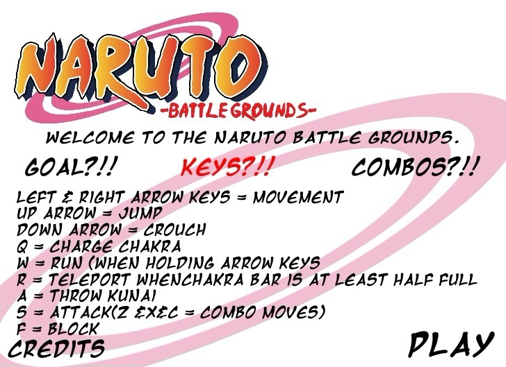 Play Naruto Battle Grounds