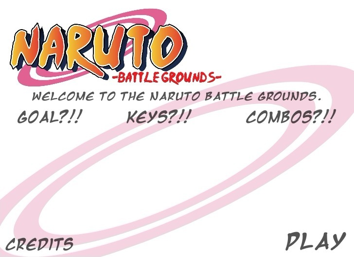 Play Naruto Battle Grounds Game Full Screen