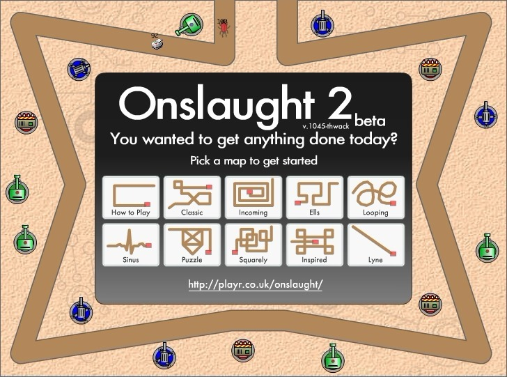 Play Onslaught 2 Game Full Screen