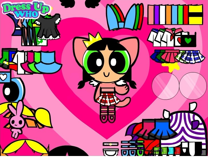 Powerpuff Girls Dress Up Full Screen